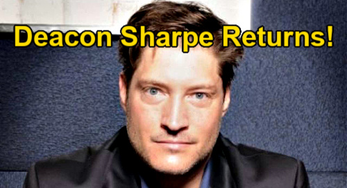 The Bold and the Beautiful Spoilers: Deacon Sharpe's Return Confirmed – Details of Sean Kanan's Exciting Comeback