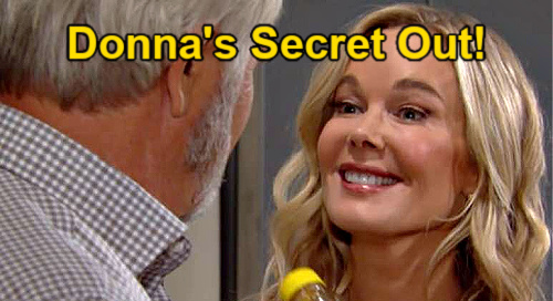 The Bold and the Beautiful Spoilers: Donna's Feelings Surprise Eric – Brooke Pushes Sister to Fight for True Love