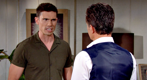 The Bold and the Beautiful Spoilers: Finn Blows Up Over Jack Bio Dad Secret – Blames Father for Forcing Sheila Into Adoption