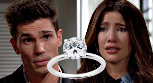 The Bold and the Beautiful Spoilers: Finn Proposes to Steffy - Engagement Ring Before Jacqueline MacInnes Wood Maternity Leave?