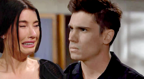 The Bold and the Beautiful Spoilers: Finn's Big Paternity Test Question - Asks Steffy Who She'd Prefer for Baby Daddy