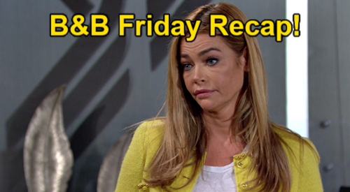 The Bold and the Beautiful Spoilers: Friday, February 26, Recap - Vinny Tells Thomas Take the Win - Shauna Asks Flo To Fight