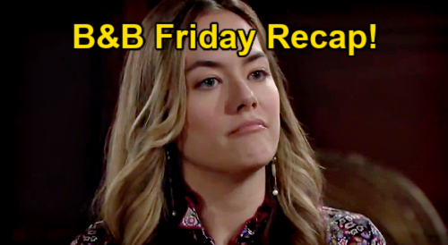 The Bold and the Beautiful Spoilers: Friday, January 15 Recap - Zende Rejects Zoe's Advances - Finn Decimates Liam