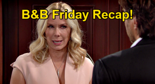 The Bold and the Beautiful Spoilers: Friday, July 23 Recap – Brooke Says Quinn Will Be Alone – Flo Sees Gorgeous Carter Appeal