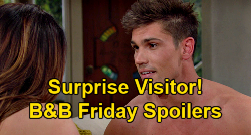 The Bold and the Beautiful Spoilers: Friday, July 30 – Jack Finnegan's Unexpected Visit – Carter's in Trouble