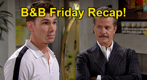 The Bold and the Beautiful Spoilers: Friday, July 30 Recap – Quinn Says Too Old for Carter – Jack's Hiding Something Big