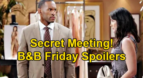 The Bold and the Beautiful Spoilers: Friday, June 11 – Quinn & Carter's Secret Meeting – Zoe Spreads Exciting News
