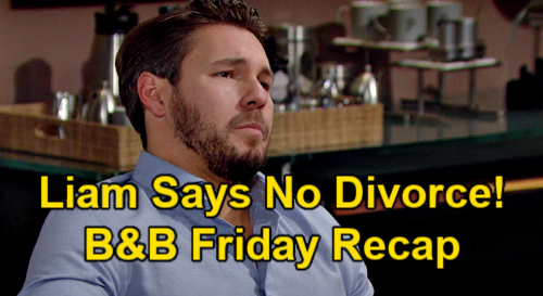 The Bold and the Beautiful Spoilers: Friday, March 26 Recap – Liam Insists No Hope Divorce - Mrs. Wyatt Spencer Accepts Proposal