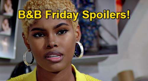 The Bold and the Beautiful Spoilers: Friday, March 5 - Zoe's Make or Break Moment - Zende & Paris' Getaway