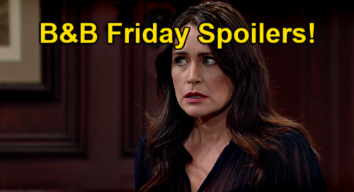 The Bold and the Beautiful Spoilers: Friday, May 14 – Quinn & Carter Strike a Deal – Shauna Pushes Bestie to Embrace Golden Opportunity
