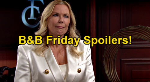 The Bold and the Beautiful Spoilers: Friday, May 7 – Carter Shuts Down Quinn Trash Talk – Brooke Questions Enemy's New Cheerleader