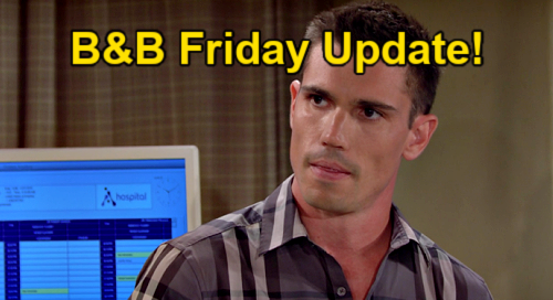 The Bold and the Beautiful Spoilers: Friday, September 10 Update – Quinn & Eric's Dinner & Dancing – Finn's Verdict on Sheila