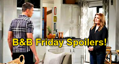 The Bold and the Beautiful Spoilers: Friday, September 3 – Sheila's Next Finn Visit - Brooke Trashes Quinn, Eric Rages