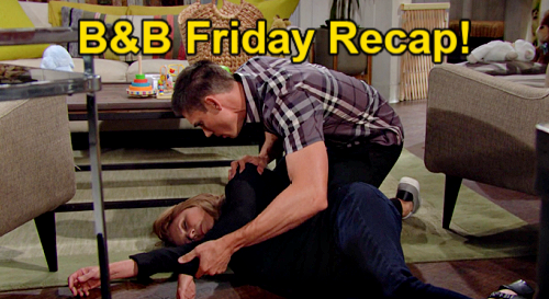 The Bold and the Beautiful Spoilers: Friday, September 3 Recap – Sheila Fakes Fainting After Finn Bans Mom Forever