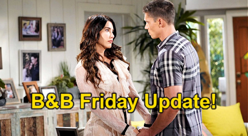 The Bold and the Beautiful Spoilers: Friday, September 3 Update – Sheila Wants Steffy's Removal – Brooke's Epic Fail
