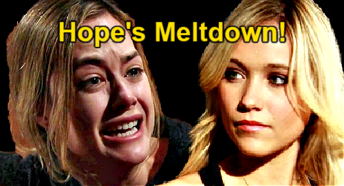The Bold and the Beautiful Spoilers: Hope's Bridesmaid Meltdown - Rejects Flo's Wedding Request?