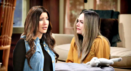 The Bold and the Beautiful Spoilers: Hope & Steffy's Mom-to-Mom Meeting After Liam Bio Dad News