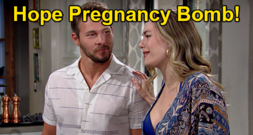 The Bold and the Beautiful Spoilers: Hope's Surprise Pregnancy – Puts Marriage & Family with Liam to the Test?