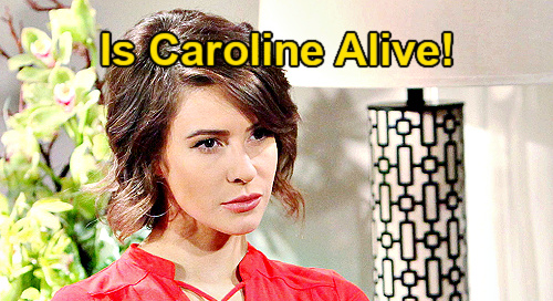 The Bold and the Beautiful Spoilers: Is Caroline Spencer Alive – Mystery Character Threatens Hope & Liam's Family?