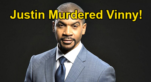 The Bold and the Beautiful Spoilers: Justin Responsible for Vinny's Murder – Spencer Publications Takeover Plot Revealed