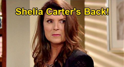 The Bold and the Beautiful Spoilers: Kimberlin Brown Returns - Sheila Carter Back In LA