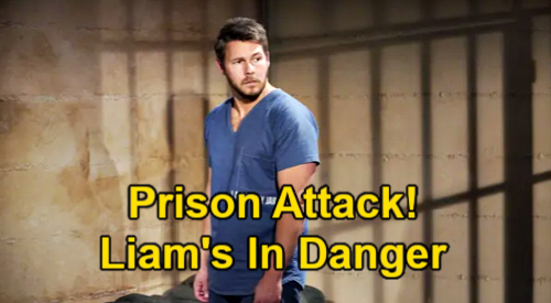 The Bold and the Beautiful Spoilers: Liam's Prison Attack, Hope's Husband in Danger – Vulnerable Inmate an Easy Target?