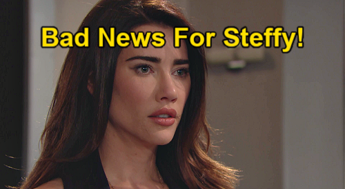 The Bold and the Beautiful Spoilers: Liam Warns Steffy - Prison Takes Kelly's Dad Away