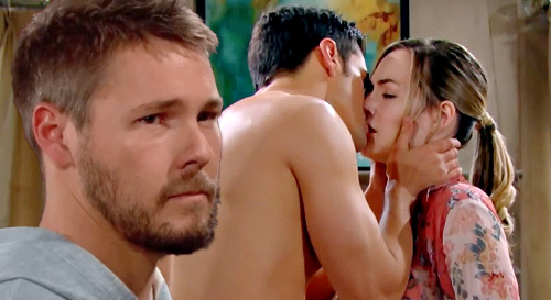 The Bold and the Beautiful Spoilers: Liam Witnesses Thomas Kissing Real Hope – Karma Hits For Doll Blunder?