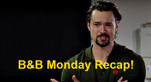 The Bold and the Beautiful Spoilers: Monday, April 12 Recap – Wyatt Demands Answers from Bill & Liam – Thomas Wants Vinny Killer Caught