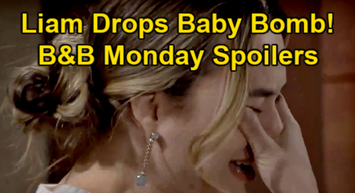 The Bold and the Beautiful Spoilers: Monday, January 11 - Liam Drops Pregnancy Bomb On Hope - Steffy Struggles To Confess