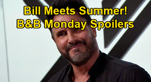 The Bold and the Beautiful Spoilers: Monday, January 18 - Bill Meets Y&R's Summer - Hope & Finn Reject Cheating Excuses