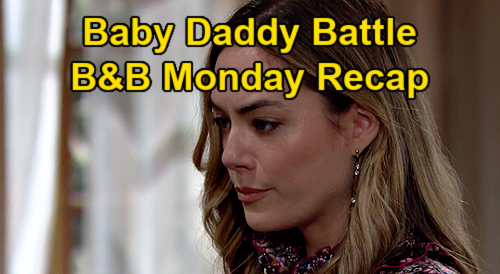 The Bold and the Beautiful Spoilers: Monday, January 18 Recap - Steffy & Hope Baby Daddy Battle - Liam Starts Crying Again