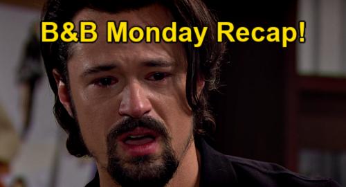 The Bold and the Beautiful Spoilers: Monday, June 21 Recap – Vinny Killed Himself to Frame Liam, Reunite Thomas & Hope