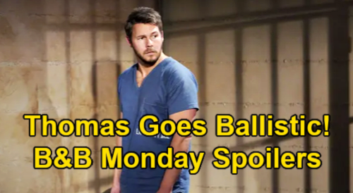 The Bold and the Beautiful Spoilers: Monday, June 7 – Thomas Goes Ballistic Over Liam Killing Vinny – Murder Mystery Questions