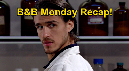 The Bold and the Beautiful Spoilers: Monday, March 1 Recap - Vinny's Grudge Against Finn - Thomas Hears Science & DNA