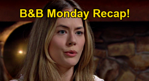 The Bold and the Beautiful Spoilers: Monday, March 15 Recap – Steffy's Baby Instincts Proven Right - Liam Preps for Hope Split