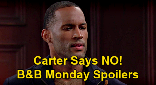 The Bold and the Beautiful Spoilers: Monday, March 8 - Carter Rejects Zoe, Ends Relationship - Paris Sings For Zende