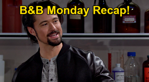 The Bold and the Beautiful Spoilers: Monday, March 8 Recap - Thomas Demands Original Test Results - Carter Ends Zoe Engagement