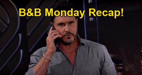 The Bold and the Beautiful Spoilers: Monday, May 17 Recap – Bill Scares Liam on Hope Date Night – Detective Wyatt Wants Answers