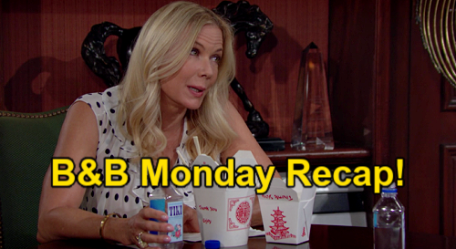 The Bold and the Beautiful Spoilers: Monday, September 13 Recap – Eric Leaves Quinn & Carter to Enjoy - Donna's Dating Fail