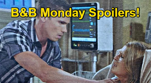 The Bold and the Beautiful Spoilers: Monday, September 6 – Sheila Hospitalized - Steffy Tells Choked Up Finn It's a Con
