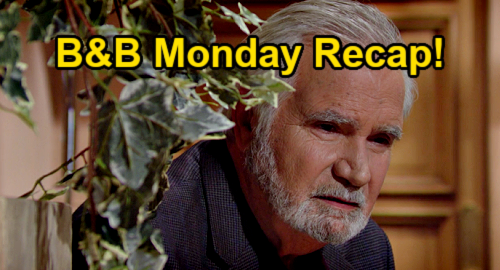 The Bold and the Beautiful Spoilers: Monday, September 6 Recap – Eric Spies on Quinn - Sheila's Plan Pays Off