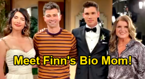 The Bold and the Beautiful Spoilers: Sheila Carter Is Finn's Mother, Crashes Steffy's Wedding - Kimberlin Brown Returns