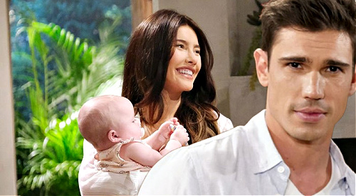 The Bold and the Beautiful Spoilers: Steffy's Twin Sister Baby Tribute - Finn's New Daughter, Little Phoebe Finnegan?