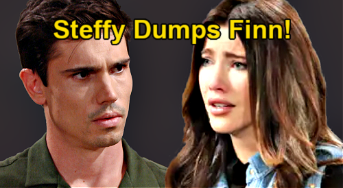 The Bold and the Beautiful Spoilers: Steffy Dumps Finn – Sets True Love Free Over Liam Baby Paternity