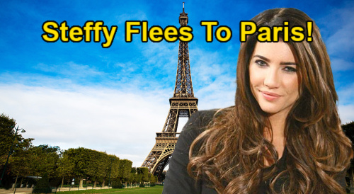 The Bold and the Beautiful Spoilers: Steffy Flees to Paris After Cheating & Paternity Scandal – Social Media Drama Blows