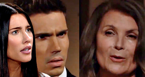 The Bold and the Beautiful Spoilers: Steffy Rages - Sheila Moves In, Finn Bonds With Bio Mom