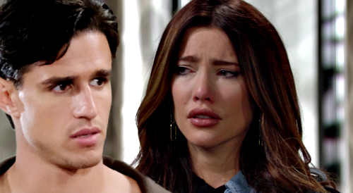 The Bold and the Beautiful Spoilers: Steffy Suspects Vinny After Thomas Voicemail Clue - Paternity Test Tampering Drama