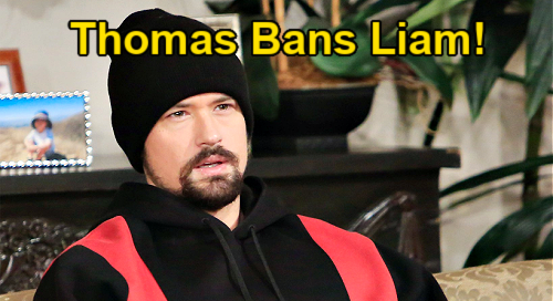 The Bold and the Beautiful Spoilers: Thomas Warns Liam Away from Hope & Steffy – Insists Both Women Better Off Without Waffler