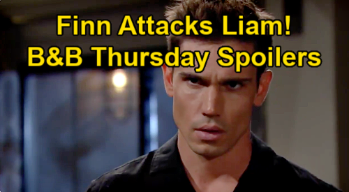 The Bold and the Beautiful Spoilers: Thursday, January 14 - Finn Lashes Out At Liam - Hope Tries To Keep The Truth From Brooke